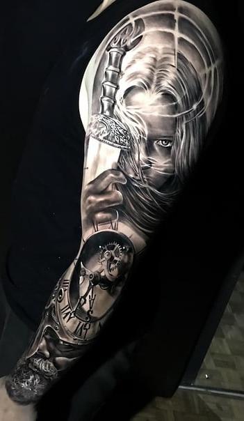 fotos-de-tatuagens-de-braço-fechado-masculina-34