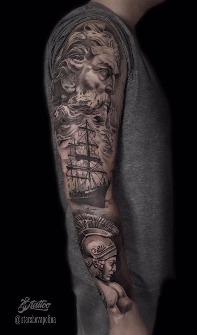 fotos-de-tatuagens-de-braço-fechado-masculina-35