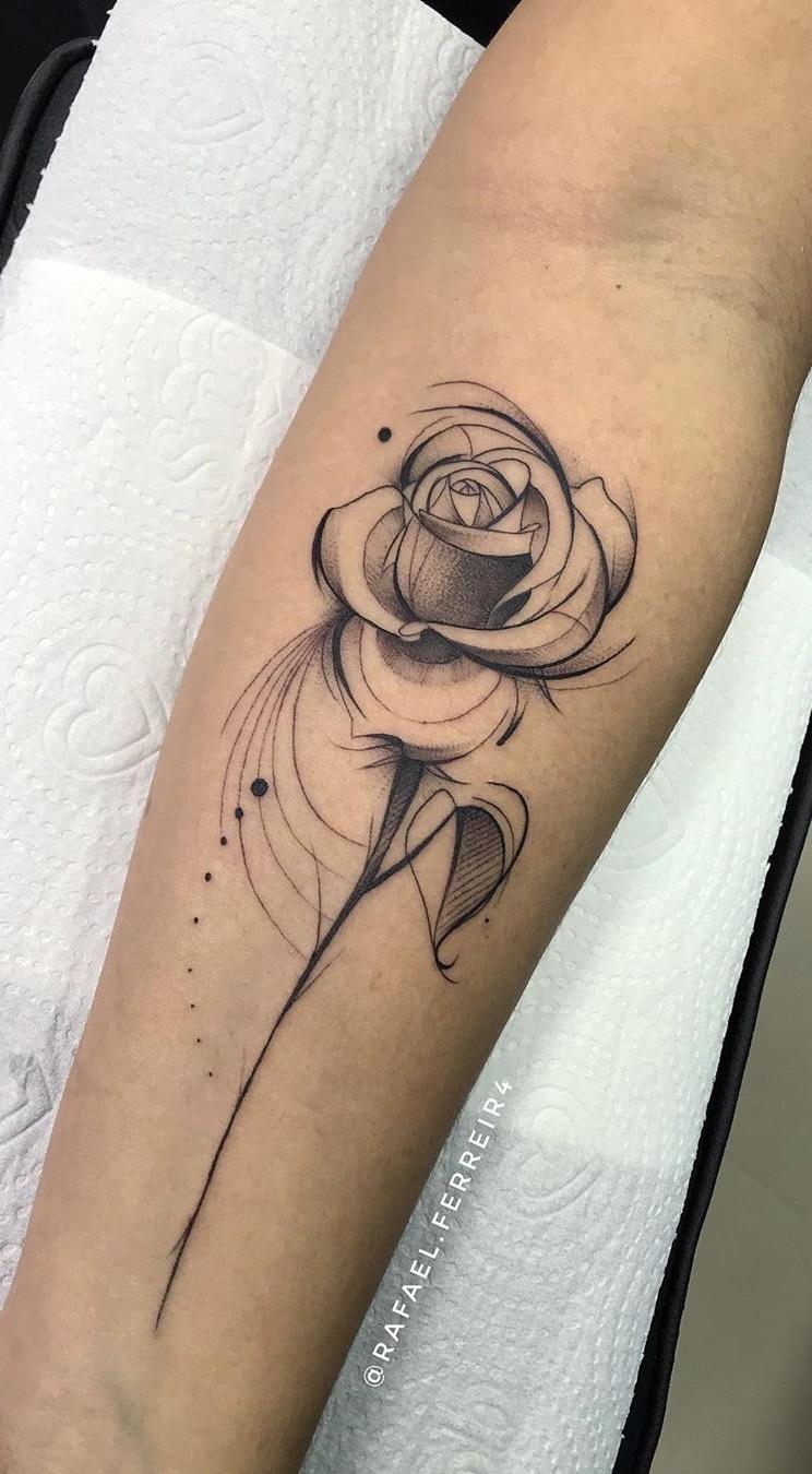 40 Tatuagens Femininas De Rosas Para Voce Se Inspirar Fotos E