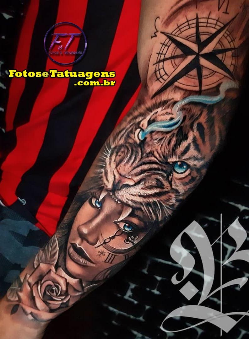 tatuagem-de-tigre-no-antebraço