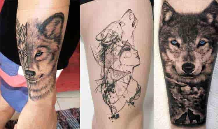 682db6834 Descubra o significado das Tatuagens de Lobo - Fotos e Tatuagens