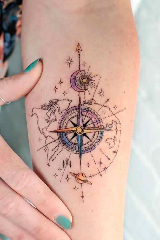 tattoo-de-rosa-dos-ventos