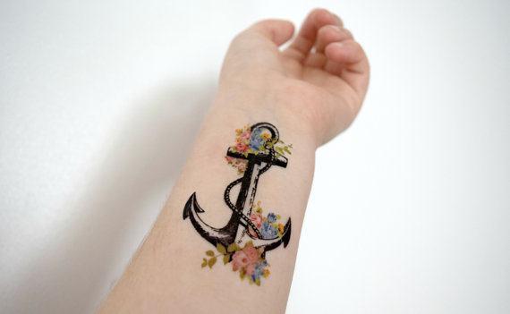 Descubra O Significado Das Tatuagens De âncora Fotos E