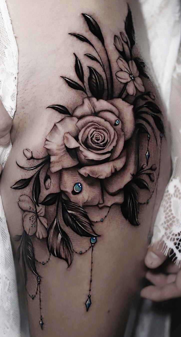 tatuagem-feminina-na-coxa
