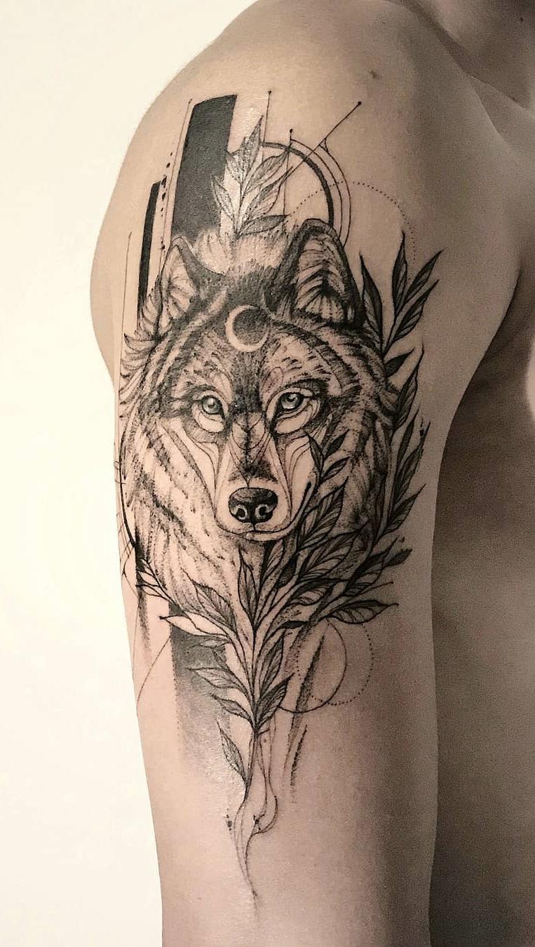 Fotos-de-tatuagens-de-lobo-Fotos-e-Tatuagens-2