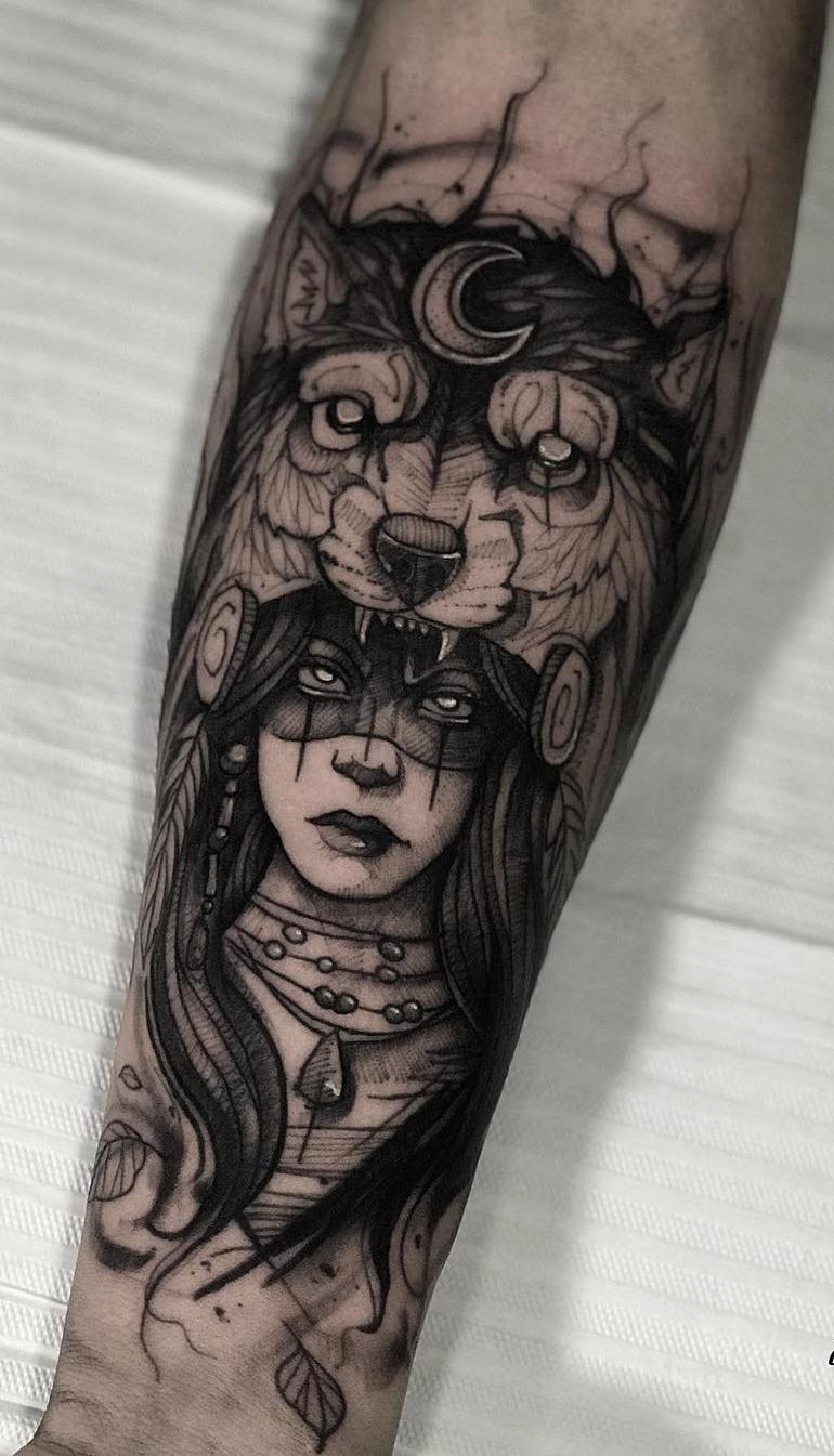 Fotos-de-tatuagens-de-lobo-Fotos-e-Tatuagens-5