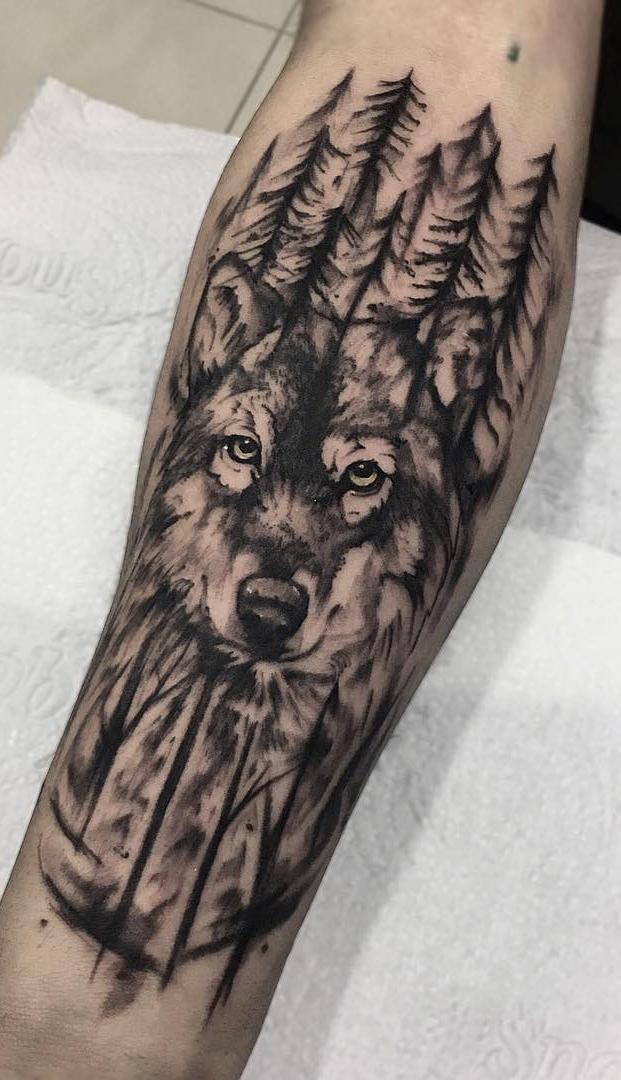 Fotos-de-tatuagens-de-lobo-Fotos-e-Tatuagens-6