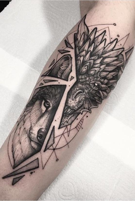 Fotos-de-tatuagens-de-lobo-Fotos-e-Tatuagens-9