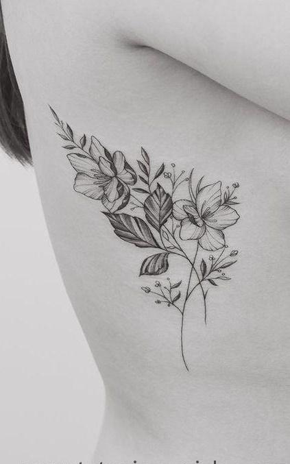 Fotos-de-tatuagens-femininas-na-costela-7