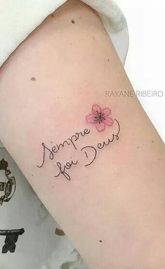 30 Fotos De Tatuagens Escritas Para Se Inspirar Fotos E