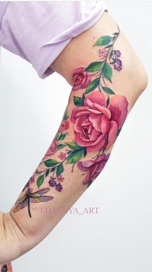 tatuagem-florida-no-antebraço-7
