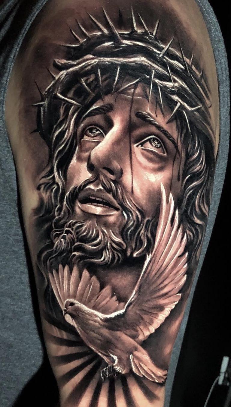 50 Tatuagens Religiosas Para Você Se Inspirar Fotos E