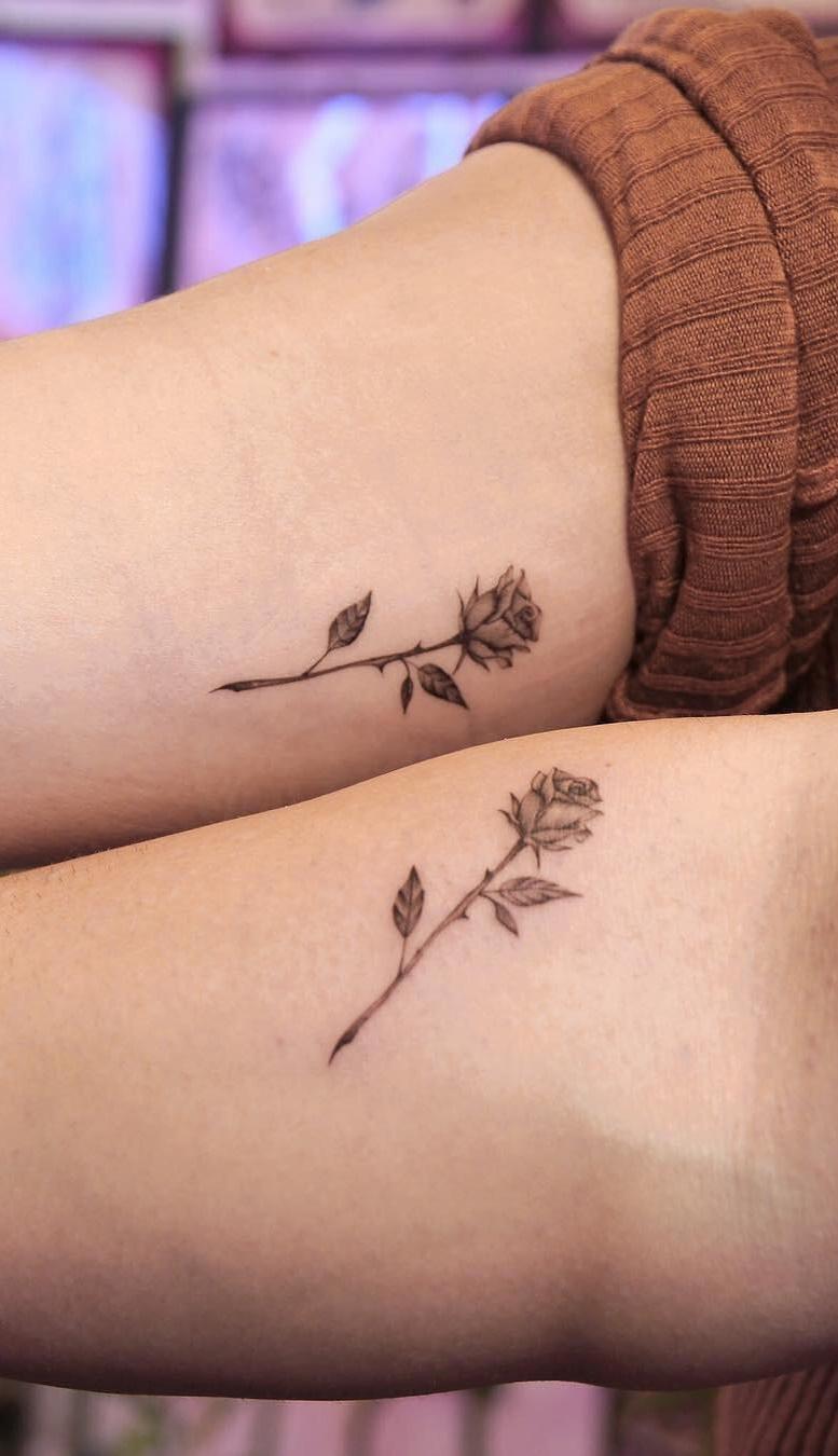25 Tatuagens De Melhores Amigas Para Se Inspirar Fotos E