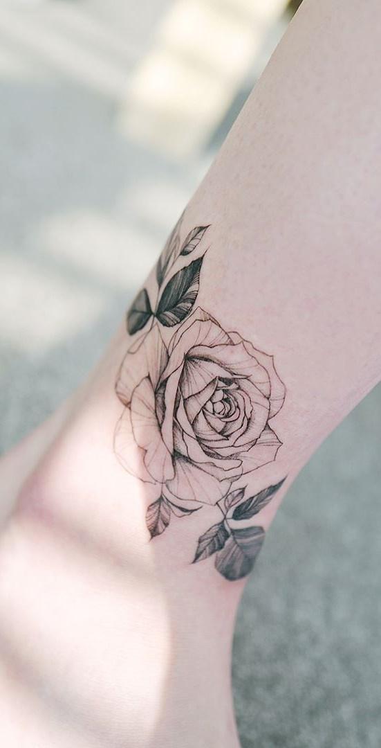 tatuagem-feminina-no-tornozelo-17