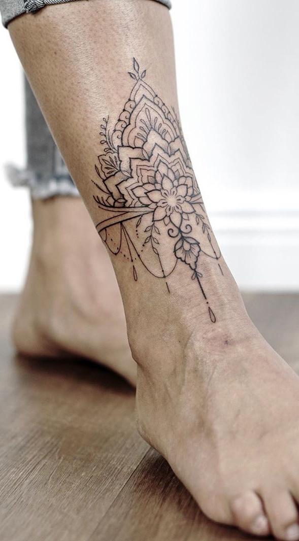 tatuagem-feminina-no-tornozelo-6