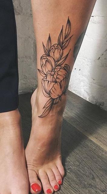 tatuagem-feminina-no-tornozelo-9