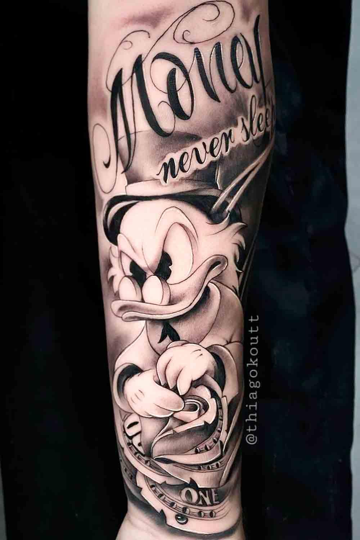 tatuagem-realista-do-tio-patinhas