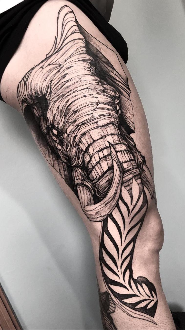 Fotos-de-tatuagens-masculina-na-perna-18