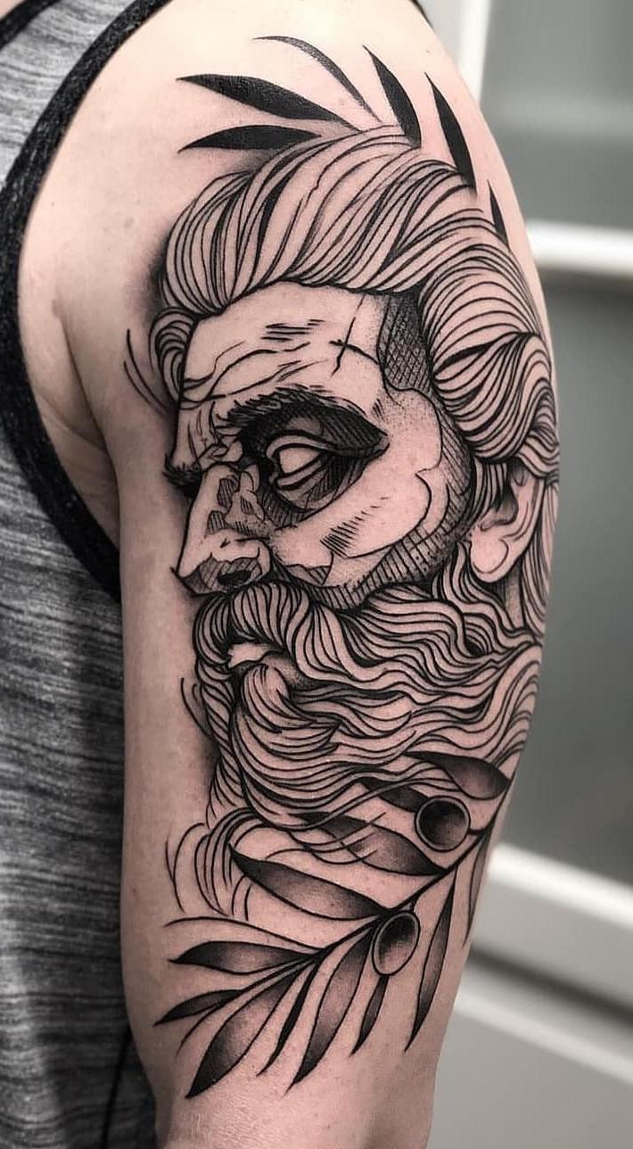 Fotos-de-tatuagens-masculinas-no-braço-19