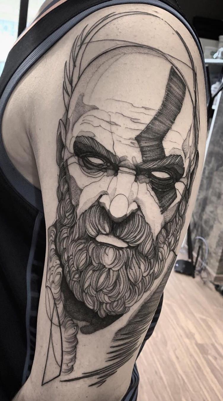 Fotos-de-tatuagens-masculinas-no-braço-23