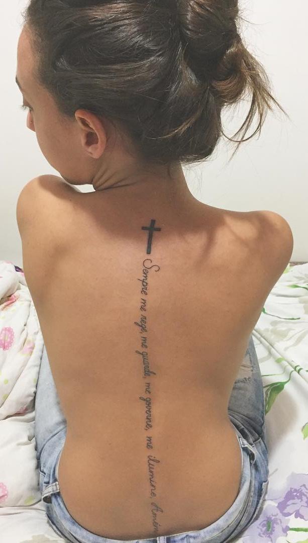 50 Ideias De Tatuagens Femininas Nas Costas Oneo Blog