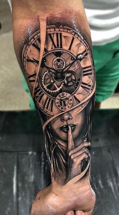 Tatuagens Masculinas No Antebraco Simples Tatuagens