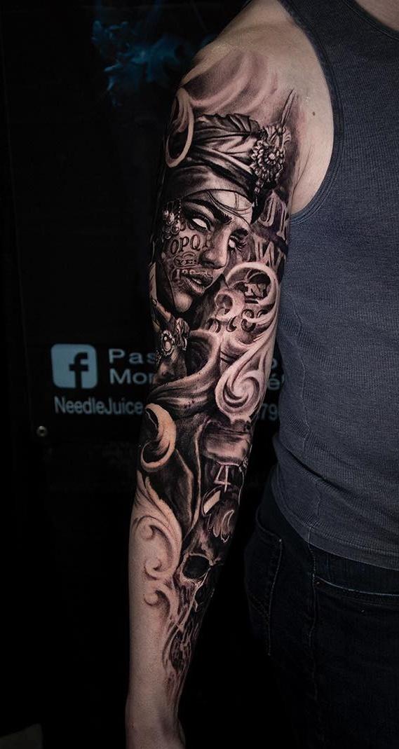 Tatuagens-na-parte-superior-do-braço-12
