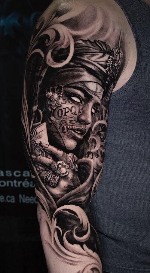 Tatuagens-na-parte-superior-do-braço-13