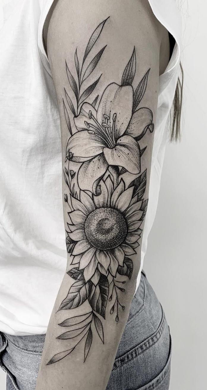 25 Tatuagens De Girassol Para Você Se Inspirar Fotos E