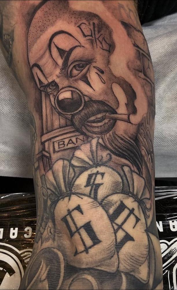 Fotos-de-Tatuagens-de-palhaço-1