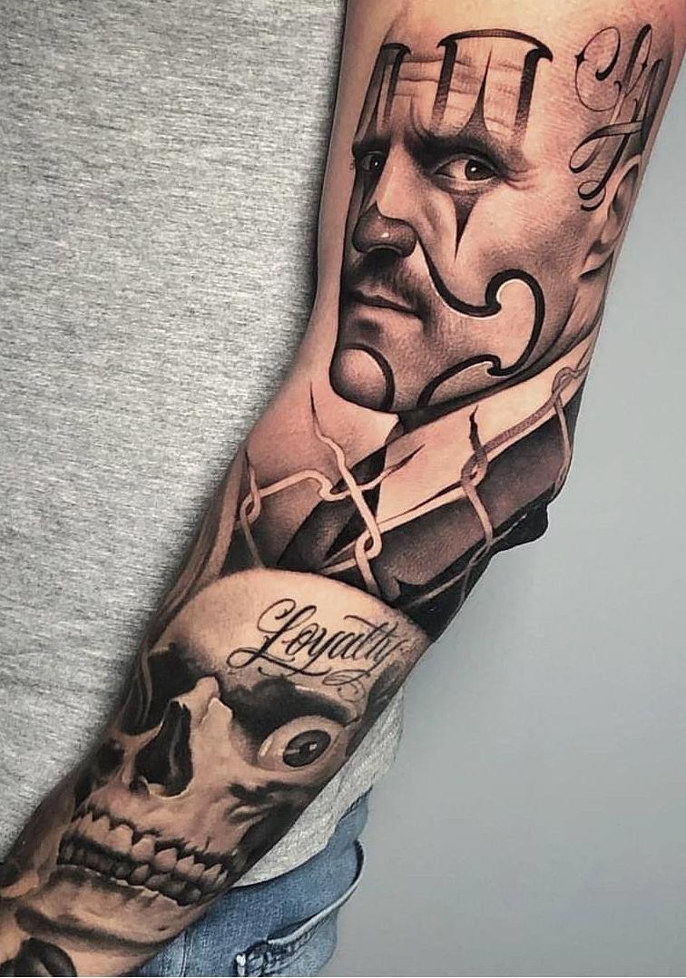 Fotos-de-Tatuagens-de-palhaço-6