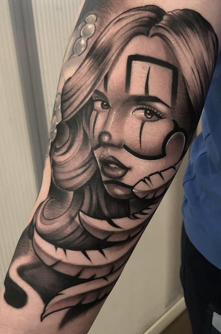 Fotos-de-Tatuagens-de-palhaço-7