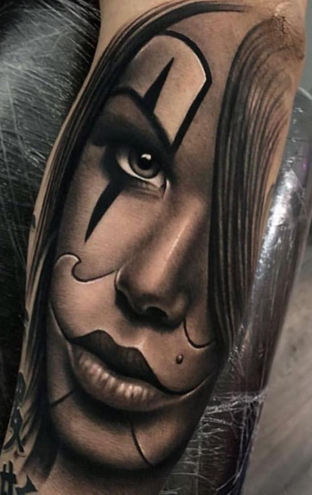 Fotos-de-Tatuagens-de-palhaço-8