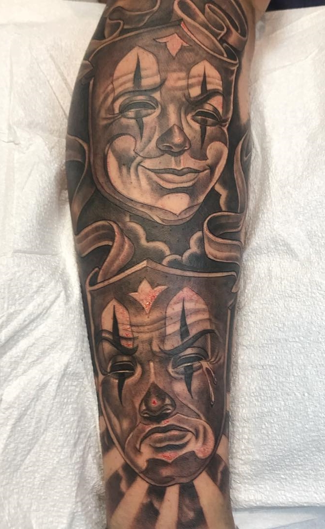 Tatuagem-de-Palhaço-15