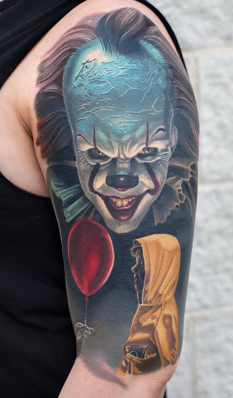 Tatuagem-de-Palhaço-18