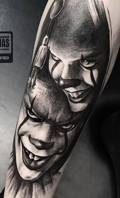 Tatuagem-de-Palhaço-19