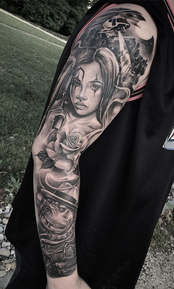 Tatuagem-de-Palhaço-22