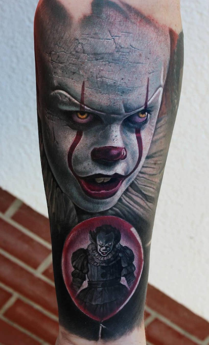 Tatuagem-de-Palhaço-23