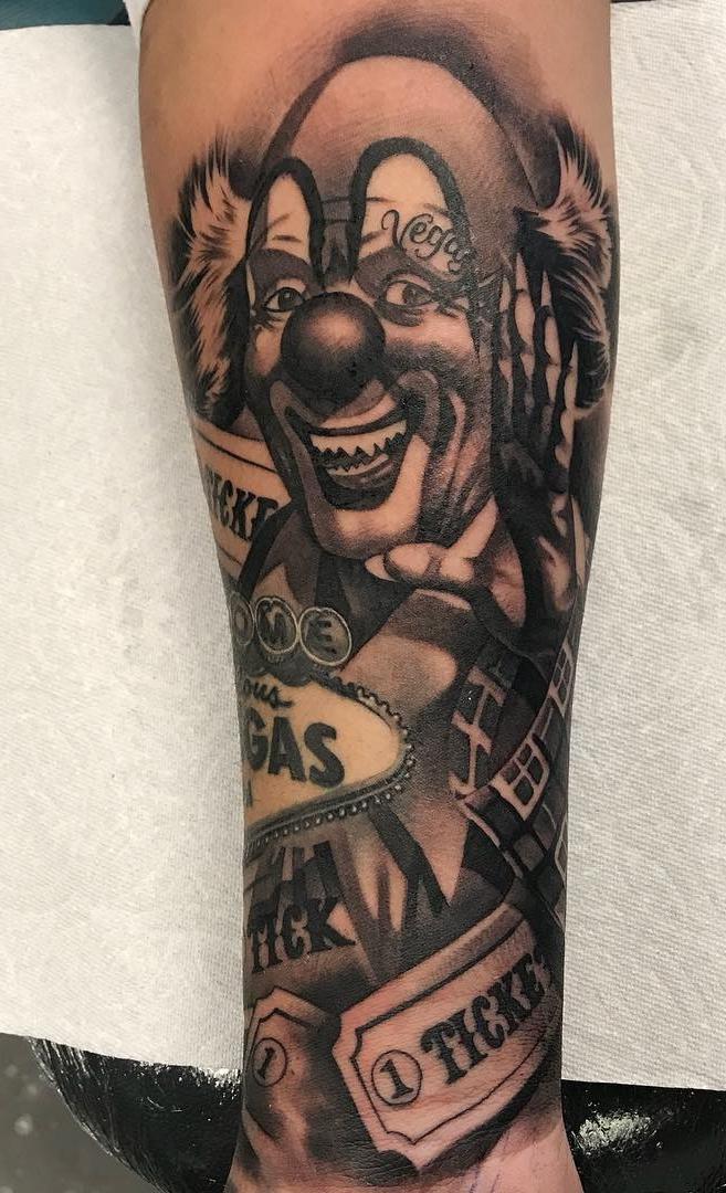 Tatuagem-de-Palhaço-25