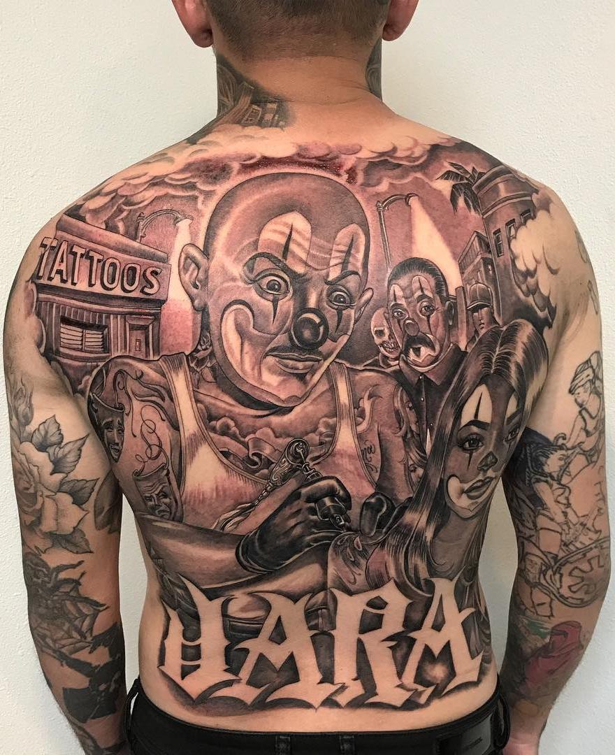 Tatuagem-de-Palhaço-26