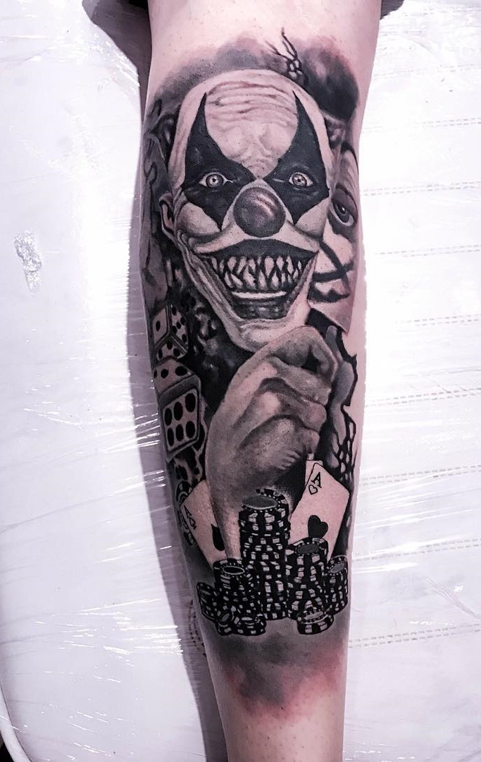 Tatuagem-de-Palhaço-27