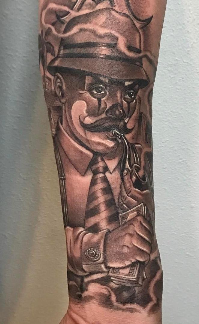 Tatuagem-de-Palhaço-3
