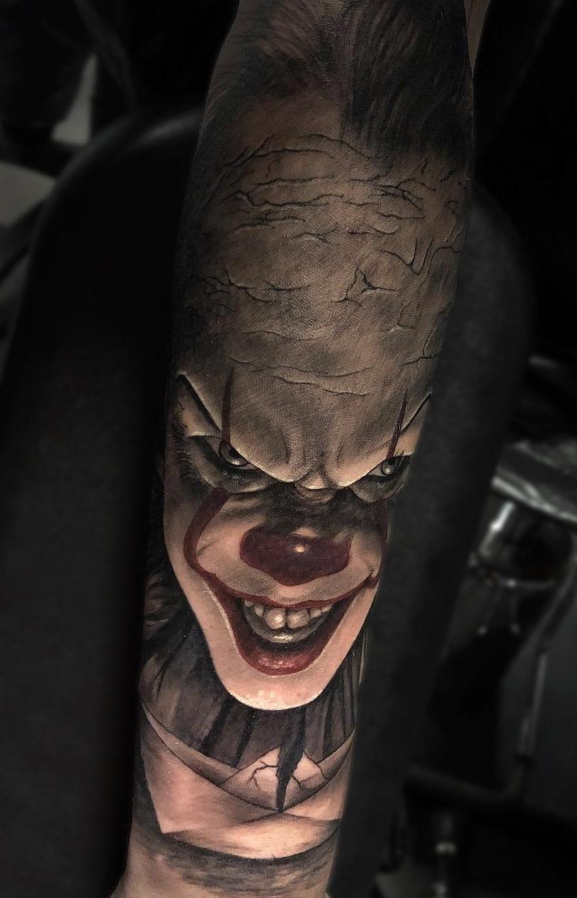 Tatuagem-de-Palhaço-30