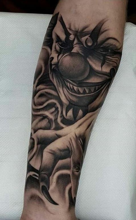 Tatuagem-de-Palhaço-35