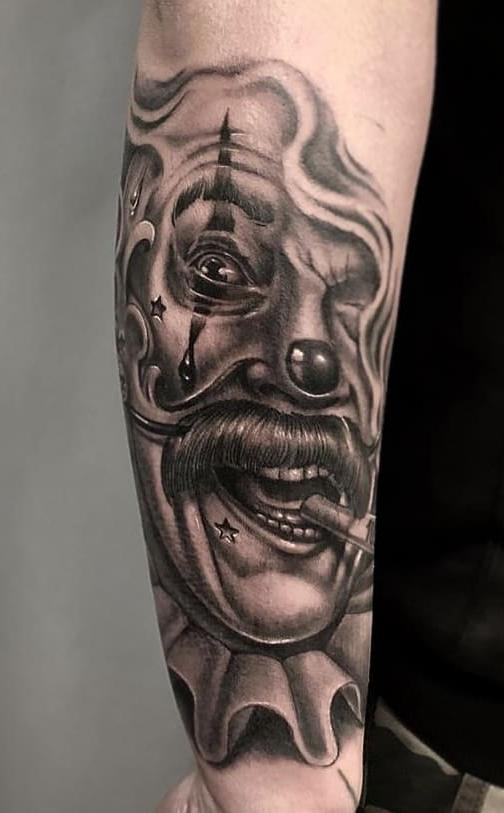 Tatuagem-de-Palhaço-38
