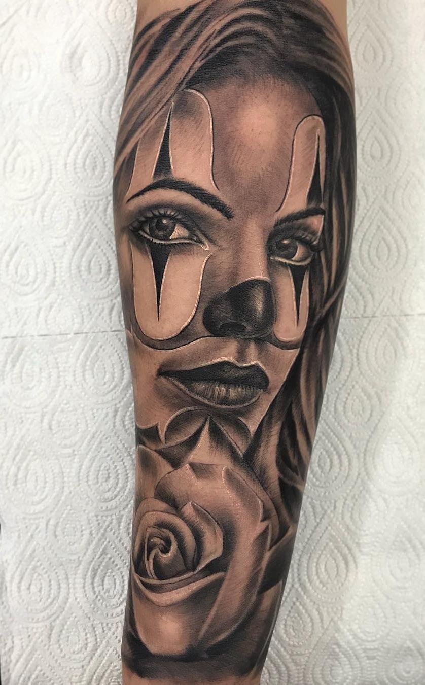 Tatuagem-de-Palhaço-40