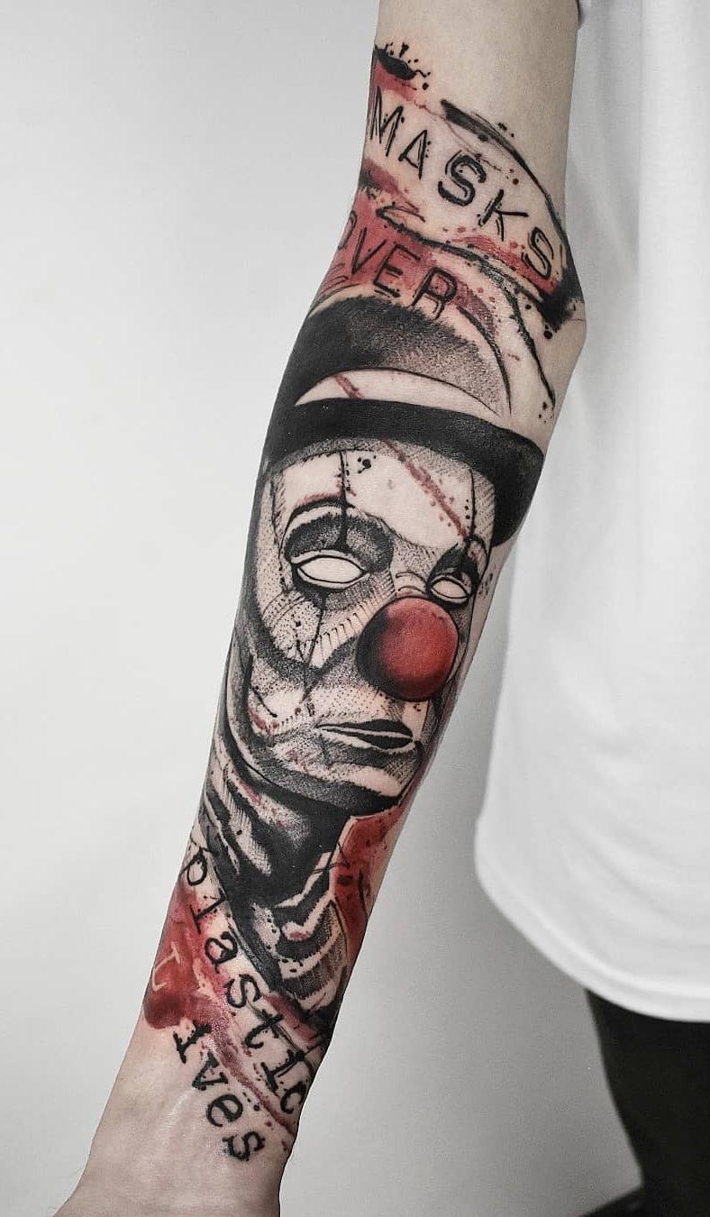Tatuagem-de-Palhaço-41