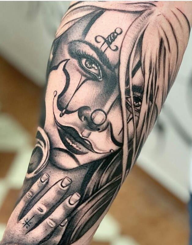 Tatuagem-de-Palhaço-43