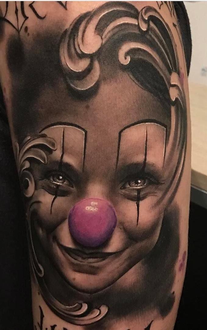 Tatuagem-de-Palhaço-5