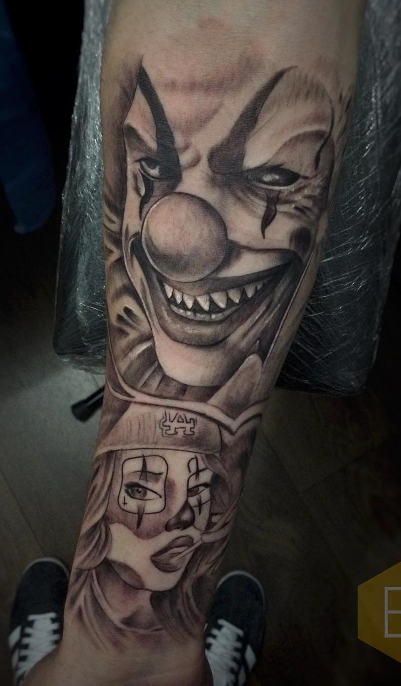Tatuagem-de-Palhaço-9